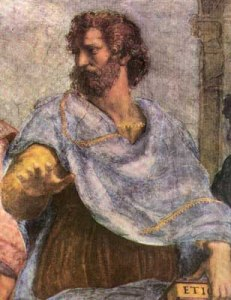 Aristotle by Raphael