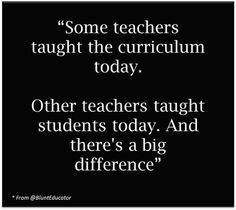 Should You Stop Teaching The Curriculum?